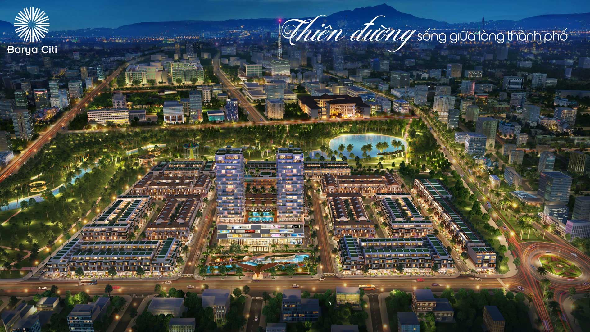 BARYA CITY- KHU PHỐ THƯƠNG GIA